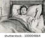 """Small photo of """"Resurrection,"""" a novel of Leo Tolstoy. Prince Nekhlyudov"""