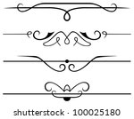 raster version  decorative... | Shutterstock . vector #100025180