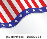 fourth of july patriotic... | Shutterstock . vector #10003135