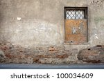 Aged Weathered Street Wall With ...