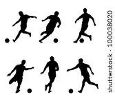 raster version. soccer ... | Shutterstock . vector #100038020