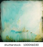 Abstract Painting On Canvas....