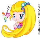 cute baby | Shutterstock . vector #100054598