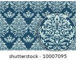 antique vector seamless pattern | Shutterstock .eps vector #10007095