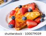 French Toasts With Fresh...