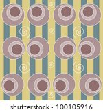 background with circle and... | Shutterstock . vector #100105916