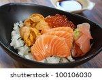 Bowl Of Sashimi Don
