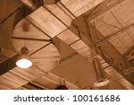 factory ceiling | Shutterstock . vector #100161686