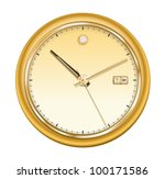 vector illustration of gold... | Shutterstock .eps vector #100171586