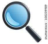 magnifying glass | Shutterstock .eps vector #100239989