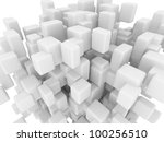 abstract geometric shapes from... | Shutterstock . vector #100256510