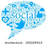an illustration of a collage of ...   Shutterstock . vector #100269413