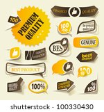 eps10  collection premium and... | Shutterstock .eps vector #100330430