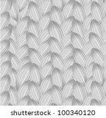 monochrome simple pattern of... | Shutterstock .eps vector #100340120