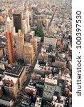 new york city manhattan aerial... | Shutterstock . vector #100397530