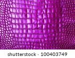 Pink Crocodile Belly Skin...