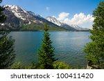 Jenny Lake In Grand Teton...