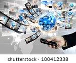 business world | Shutterstock . vector #100412338