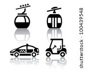 Set Of Transport Icons   Sport