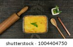 brazilian chicken pie. famous...   Shutterstock . vector #1004404750