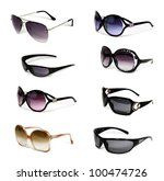 collection of sunglasses...