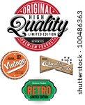 vintage banner | Shutterstock .eps vector #100486363