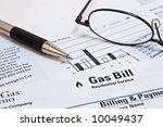 Natural Gas Heating Bill