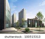 3d building | Shutterstock . vector #100515313