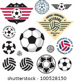 Football Soccer Ball. Football...