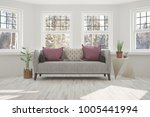 idea of white minimalist room... | Shutterstock . vector #1005441994