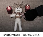 during a voodoo ceremony  a... | Shutterstock . vector #1005577216