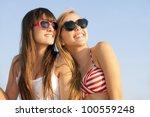 teens on summer vacation or... | Shutterstock . vector #100559248