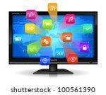internet concept  detailed...   Shutterstock .eps vector #100561390
