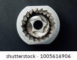 coffee machine grinder conical... | Shutterstock . vector #1005616906
