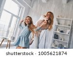 carefree time together. mother... | Shutterstock . vector #1005621874