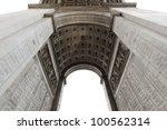 detail of arc de triomphe aka... | Shutterstock . vector #100562314