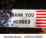 stars and stripes banner... | Shutterstock . vector #1005624868