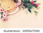 pesah celebration concept ...   Shutterstock . vector #1005627040