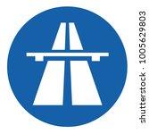 flat highway icon | Shutterstock .eps vector #1005629803