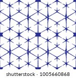 seamless pattern  abstract tie... | Shutterstock .eps vector #1005660868