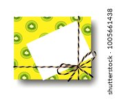 tropical yellow with kiwi scile ...   Shutterstock .eps vector #1005661438