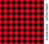 classic lumberjack plaid...   Shutterstock .eps vector #1005674869