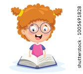 vector illustration of kid...   Shutterstock .eps vector #1005691828