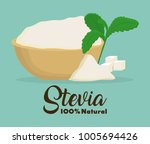 stevia concept design  | Shutterstock .eps vector #1005694426
