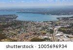 aerial view of lake macquarie... | Shutterstock . vector #1005696934