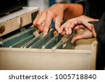 documents in the office   find... | Shutterstock . vector #1005718840