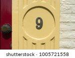 house number  nine  9    Shutterstock . vector #1005721558