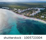 akumal bay caribbean beach in... | Shutterstock . vector #1005723304