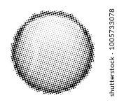 baseball halftone style on... | Shutterstock .eps vector #1005733078