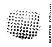 abstract halftone shape style... | Shutterstock .eps vector #1005733228